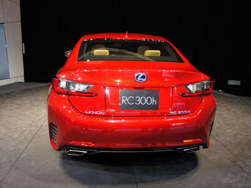 Lexus RC концепт 2013 вид сзади
