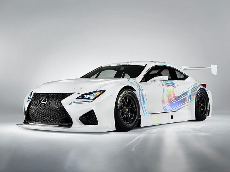Lexus RC F GT3 2014 вид спереди