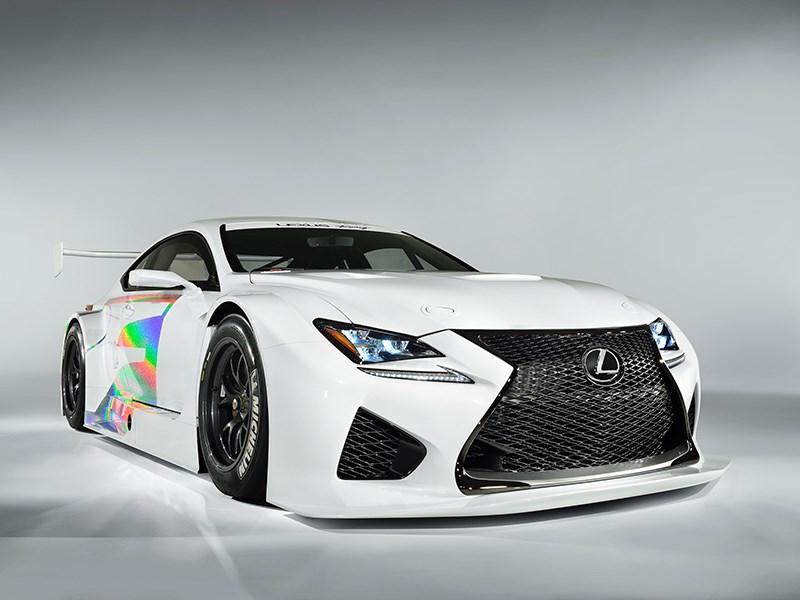 Lexus RC F GT3 2014 вид сбоку фото 2