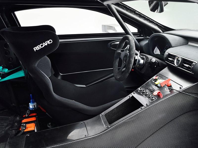Lexus RC F GT3 2014 салон