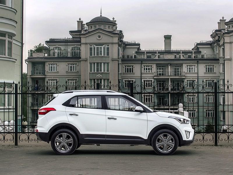 Hyundai Creta в августе возглавил рейтинг SUV-сегмента в России
