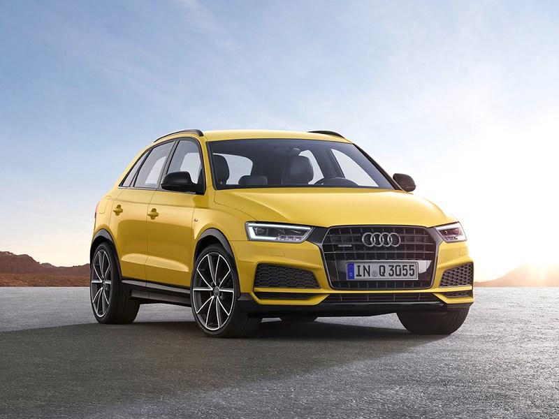 Audi показал обновленный Q3 до официальной премьеры