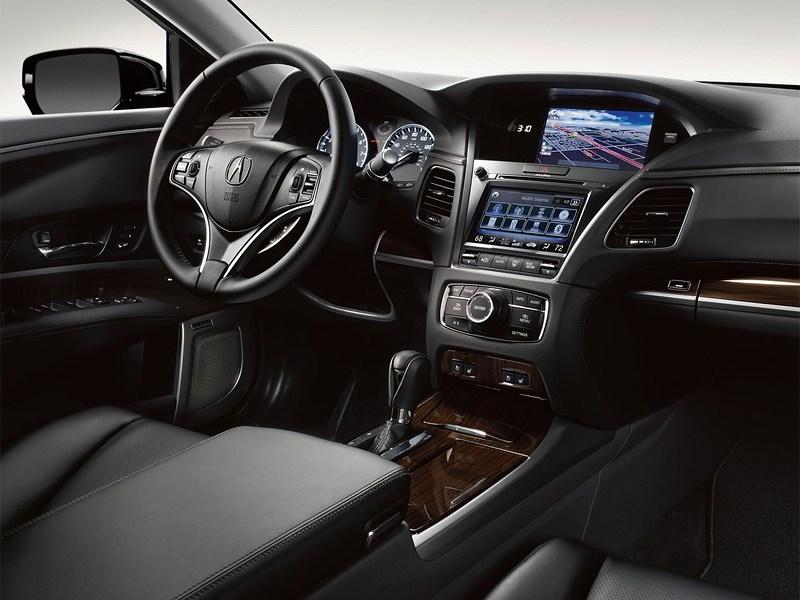Acura RLX 2013 водительское место