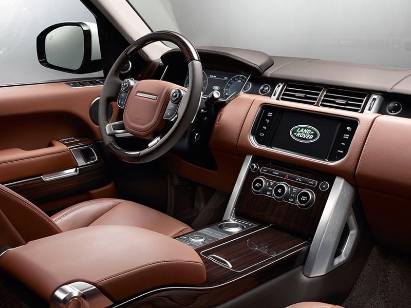 Range Rover LWB 2014 водительское место