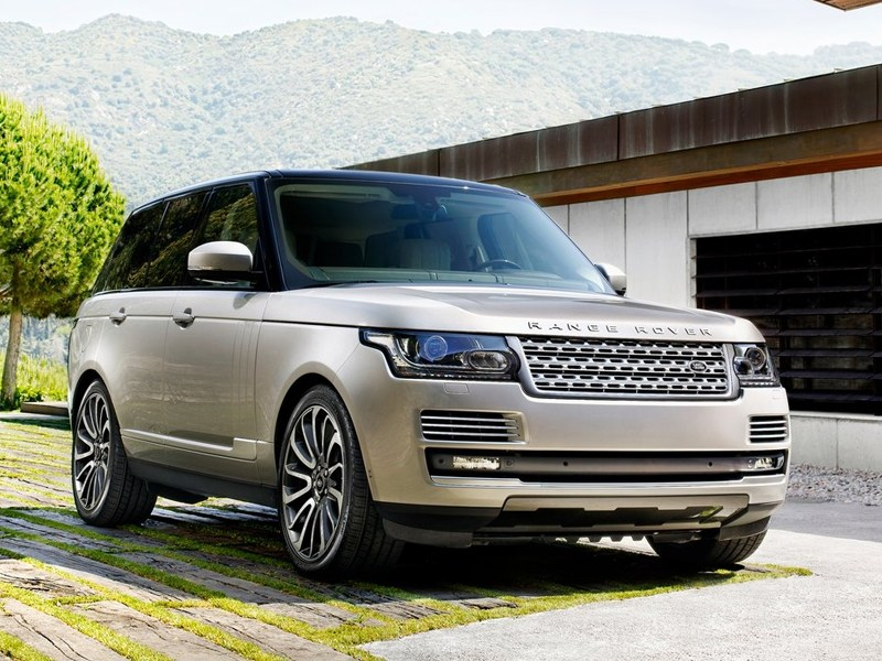 Шотландские сказы Range Rover