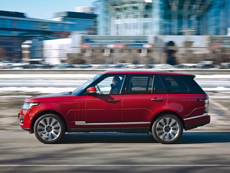 Land Rover Range Rover 2012 вид сбоку
