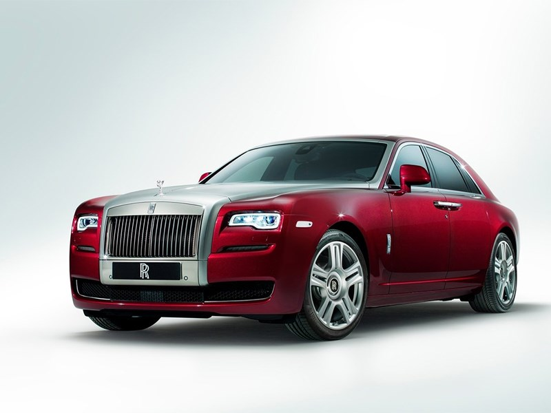 Новый Rolls-Royce Ghost - Rolls-Royce Ghost 2014 вид спереди