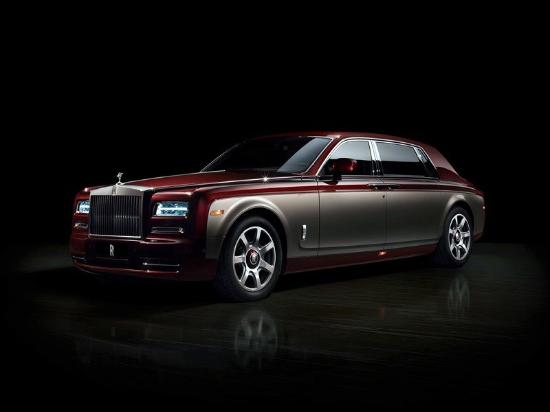 Rolls-Royce Phantom Pinnacle Travel 2014 вид спереди