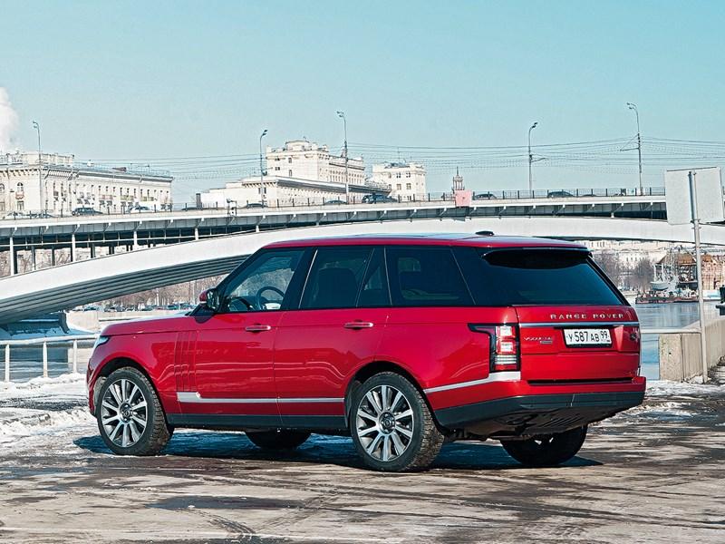 Land Rover Range Rover 2012 вид сзади
