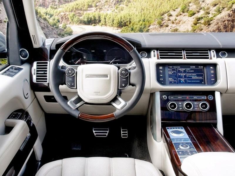Land Rover Range Rover 2013 водительское место