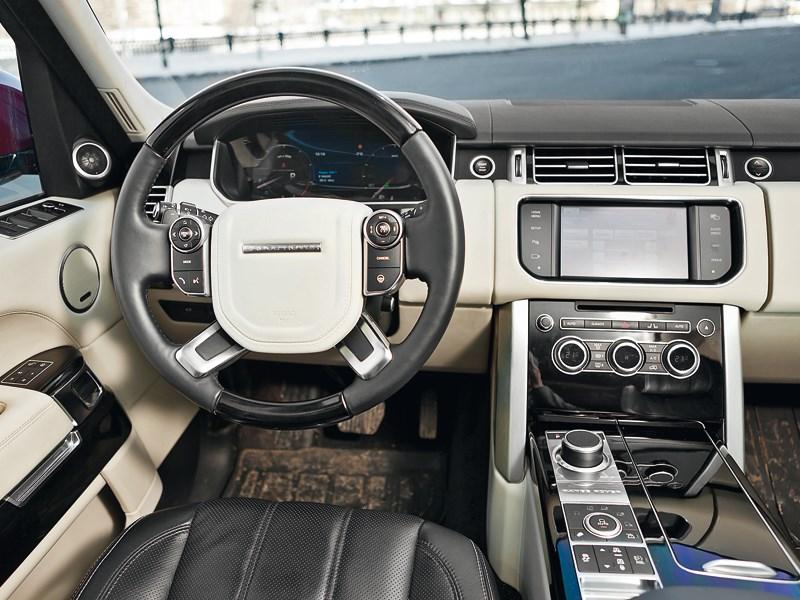 Land Rover Range Rover 2012 водительское место