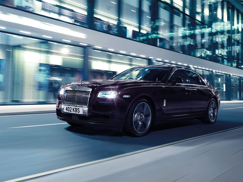 Rolls-Royce Ghost V-Specification 2014 вид спереди