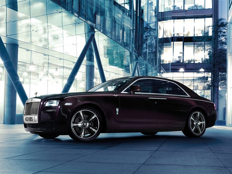 Rolls-Royce Ghost V-Specification 2014 вид сбоку