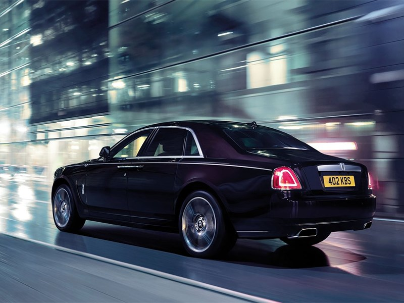 Rolls-Royce Ghost V-Specification 2014 вид сзади