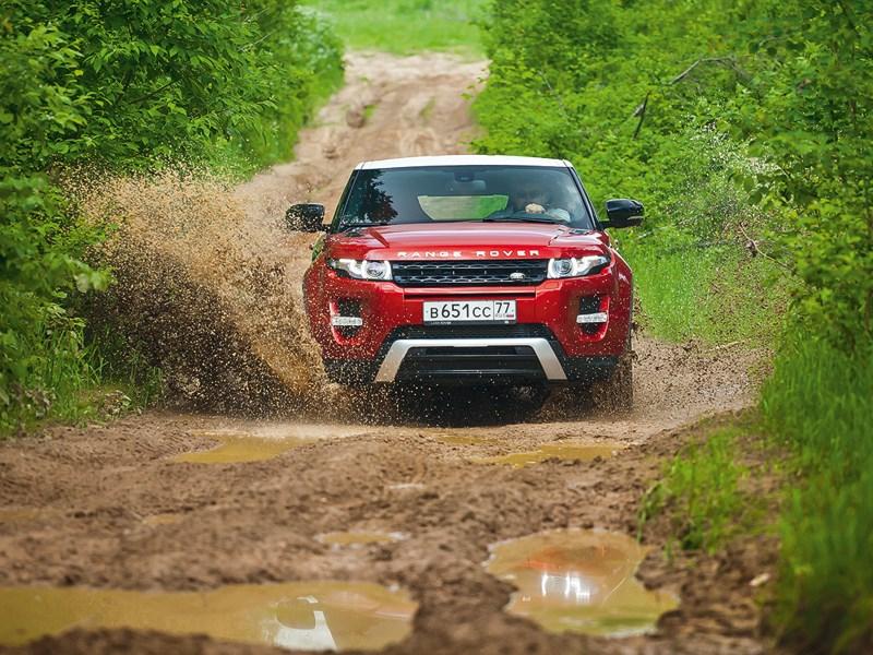 Range Rover Evoque 2012 вид спереди