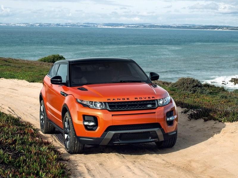 Land Rover Range Rover Evoque Autobiography Dynamic 2014 вид спереди