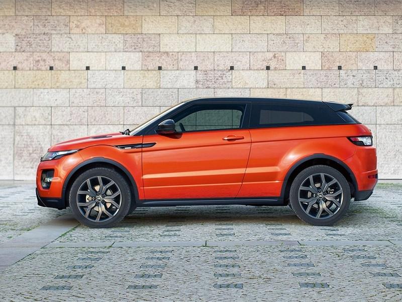 Land Rover Range Rover Evoque Autobiography Dynamic 2014 вид сбоку