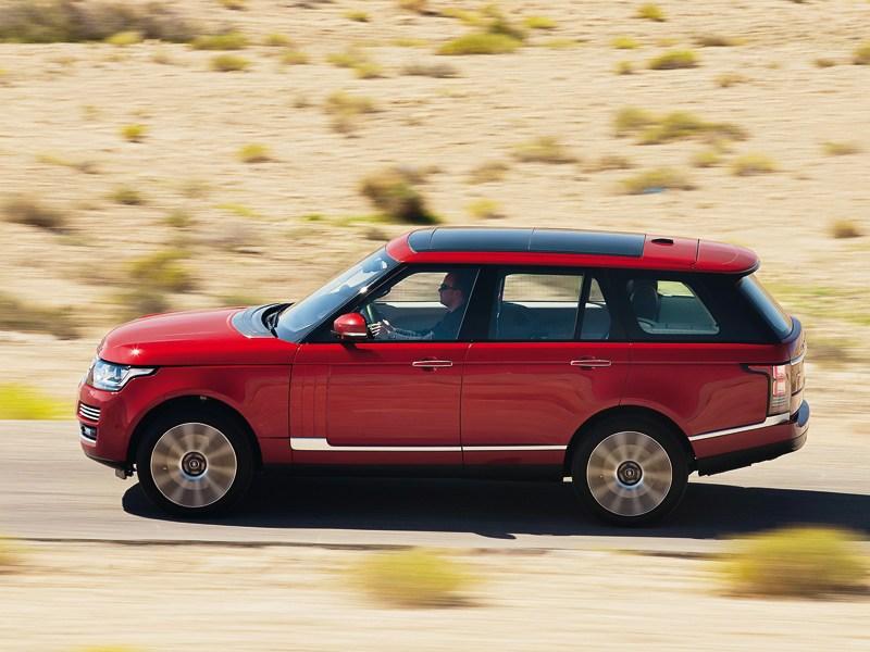Land Rover Range Rover 2013 вид сбоку