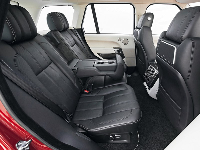 Land Rover Range Rover 2013 задний диван