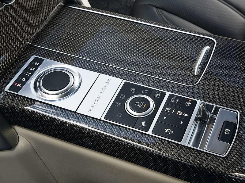 Land Rover Range Rover 2013 панель управления