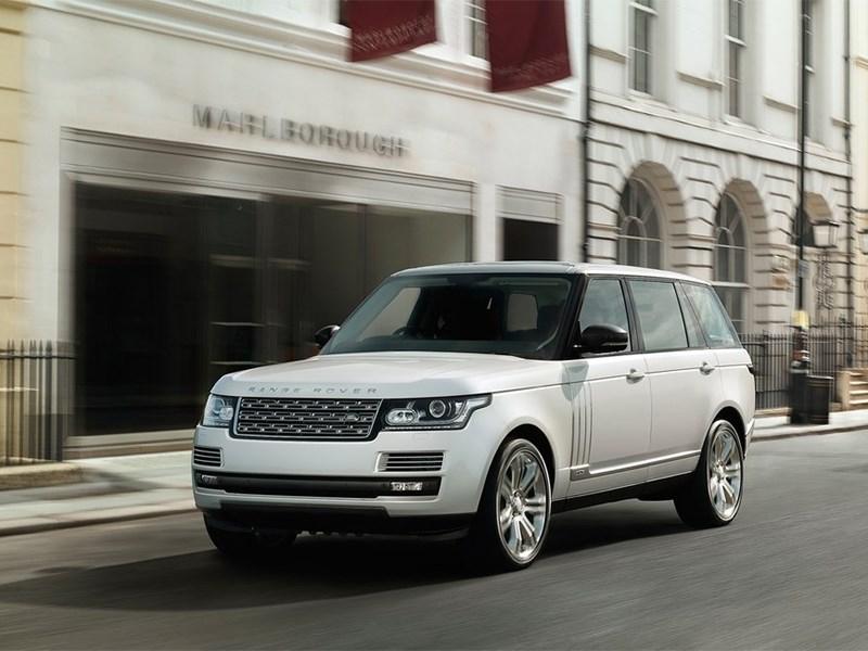 Новый Land Rover Range Rover LWB - Range Rover LWB 2014 вид спереди