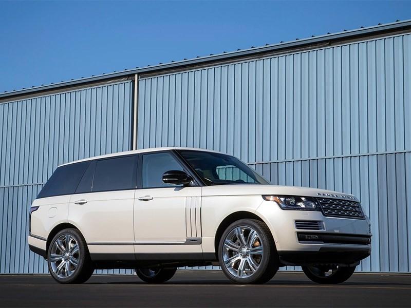 Range Rover LWB 2014 вид сбоку 3/4