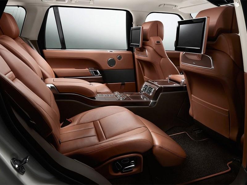 Range Rover LWB 2014 кресла для пассажиров