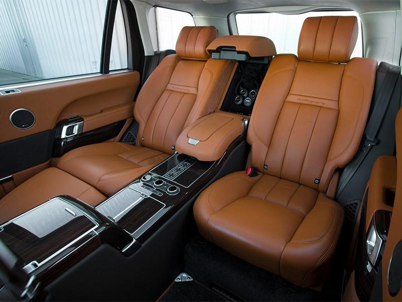 Range Rover LWB 2014 места для пассажиров