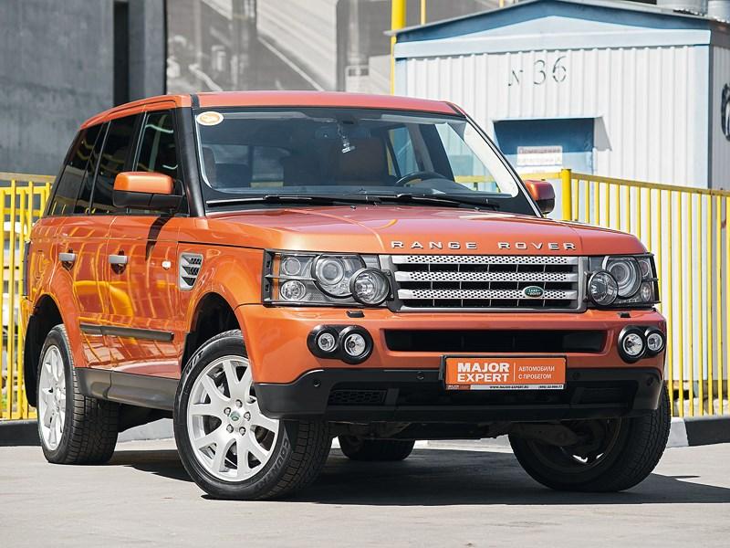 Land Rover Range Rover Sport - range rover sport 2005 вид спереди
