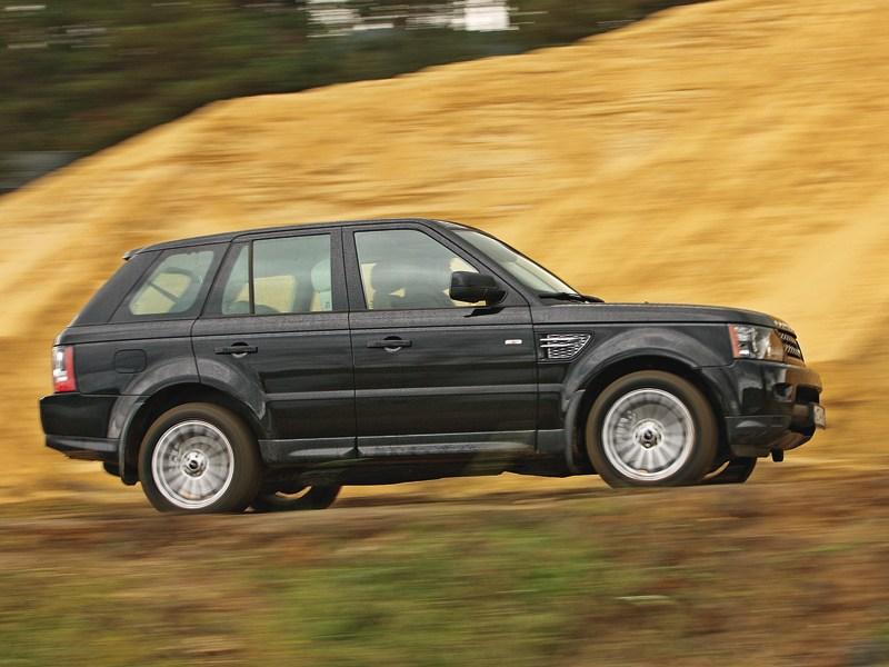 Range Rover Sport 3.0 TD 2010 вид сбоку