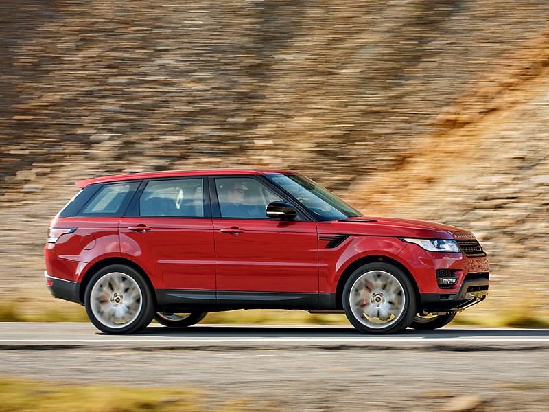 Land Rover Range Rover Sport 2013 вид сбоку