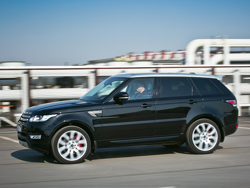Range Rover Sport 5.0 Supercharged 2013 вид сбоку