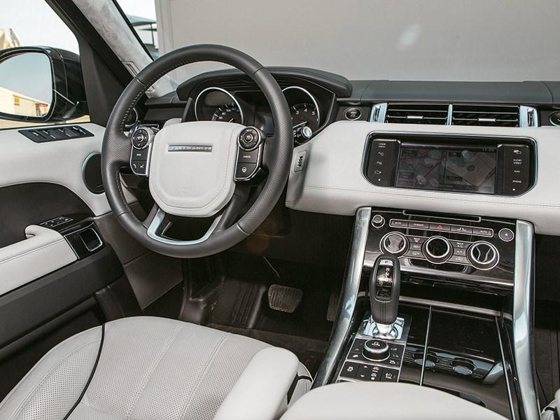 Range Rover Sport 5.0 Supercharged 2013 водительское место