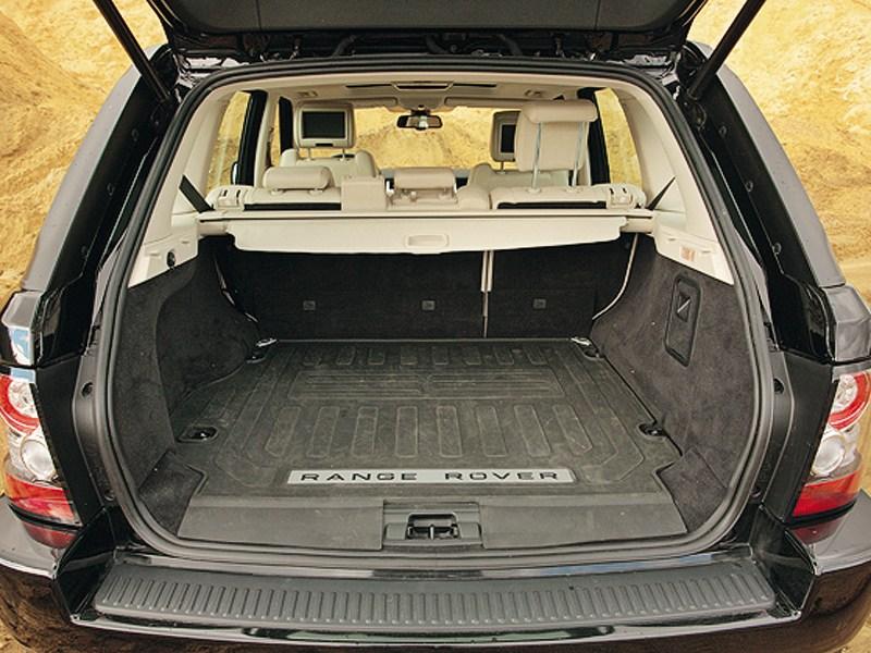 Range Rover Sport 3.0 TD 2010 багажное отделение