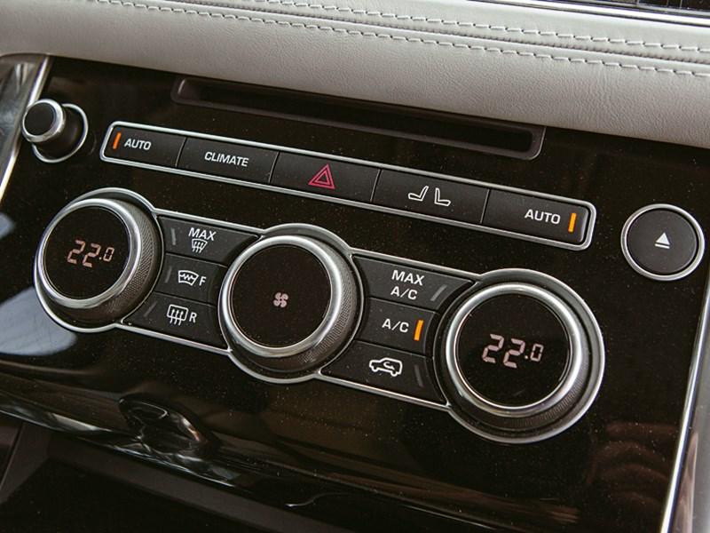 Range Rover Sport 5.0 Supercharged 2013 управление климатом