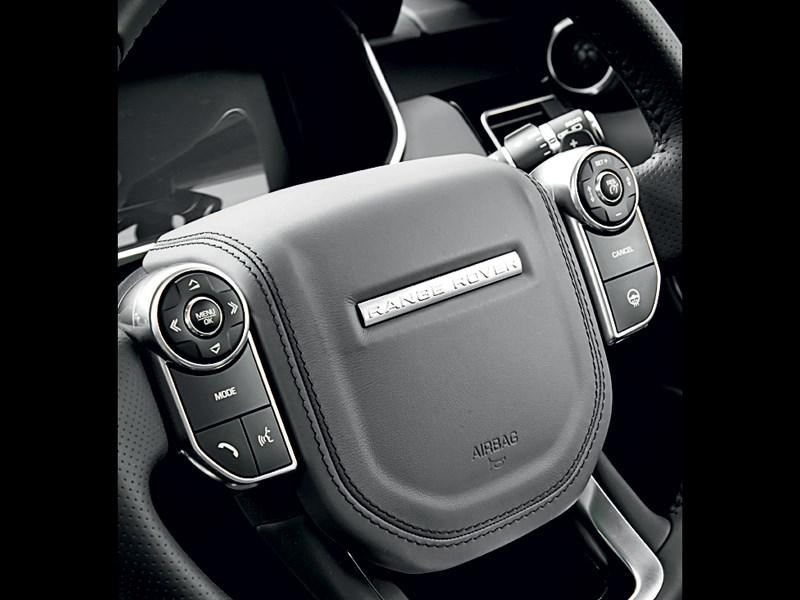 Land Rover Range Rover Sport 2013 кнопки управления на руле