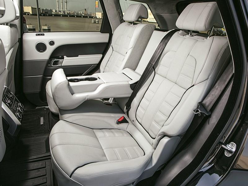 Range Rover Sport 5.0 Supercharged 2013 задние кресла
