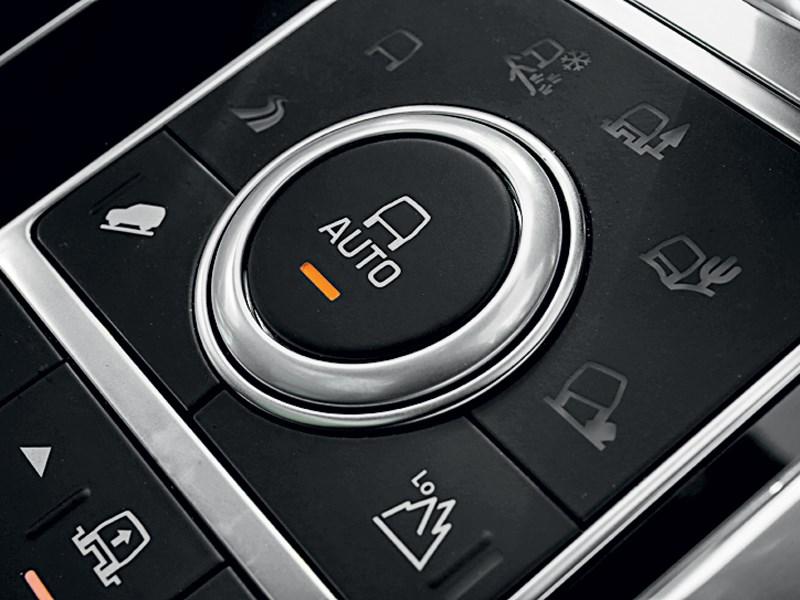 Land Rover Range Rover Sport 2013 управление приводом