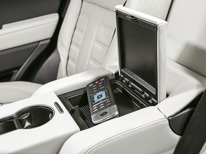Range Rover Sport 5.0 Supercharged 2013 ящик между креслами