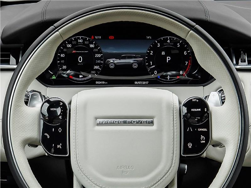 Land Rover Range Rover Velar 2018 руль