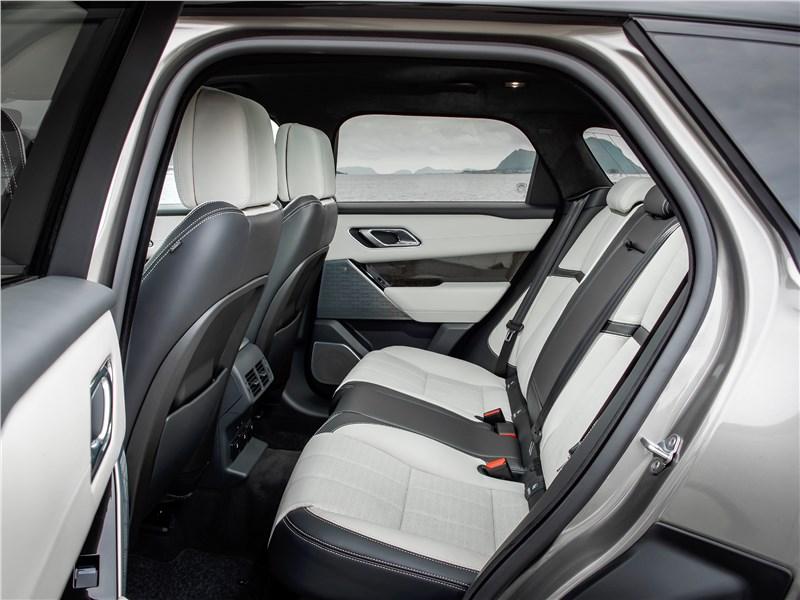 Land Rover Range Rover Velar 2018 задний диван