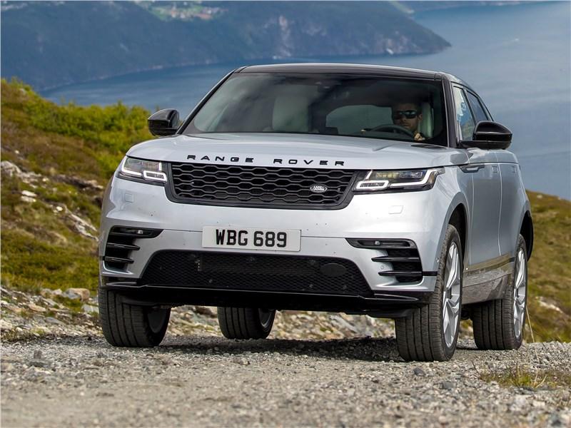 Land Rover Range Rover Velar 2018 вид спереди