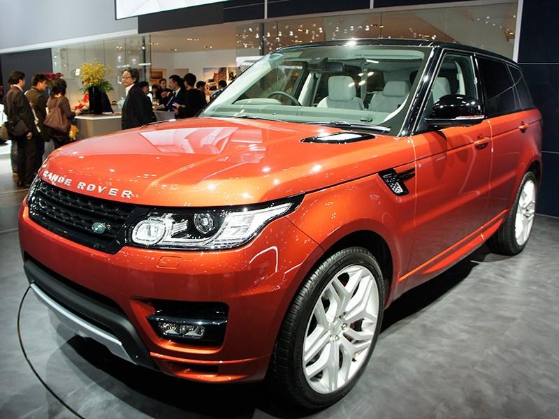 Land Rover Range Rover Sport 2013 вид спереди 3/4