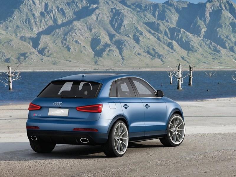 Audi RS Q3 concept 2012 вид сзади
