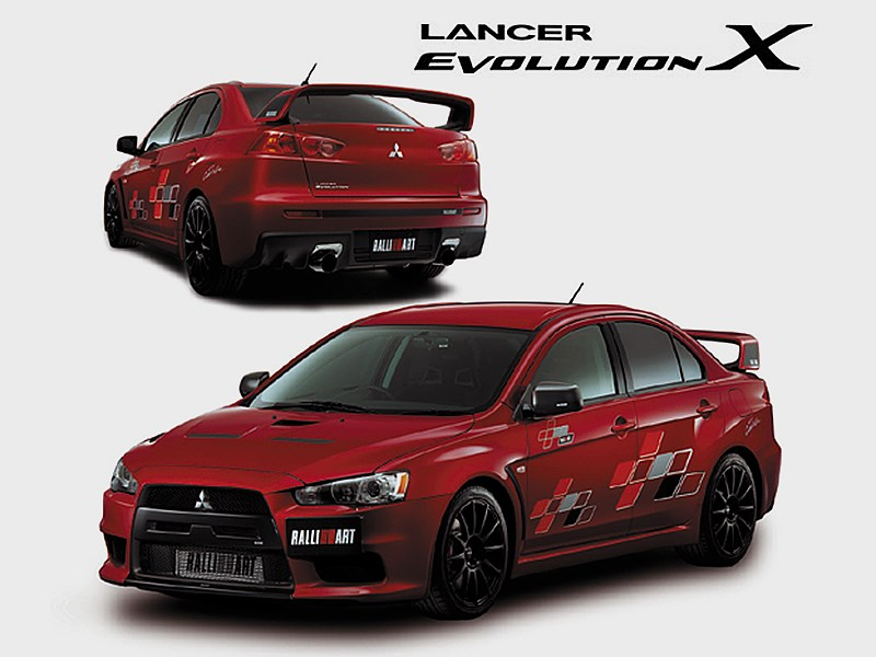 Lancer Evolution X Ralliart 2008