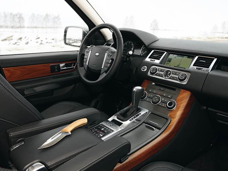 Range Rover Sport 2010 водительское место