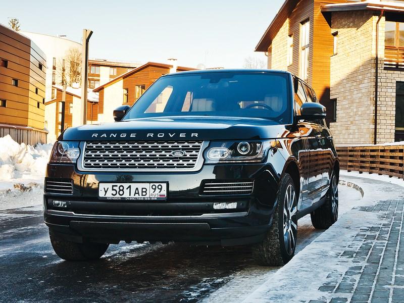 Range Rover 2012 вид спереди