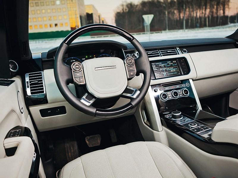 Range Rover 2012 водительское место