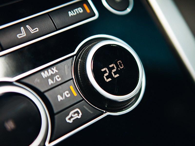 Range Rover 2012 климат-контроль
