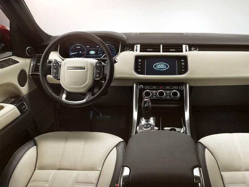 Land Rover Range Rover Sport 2013 водительское место